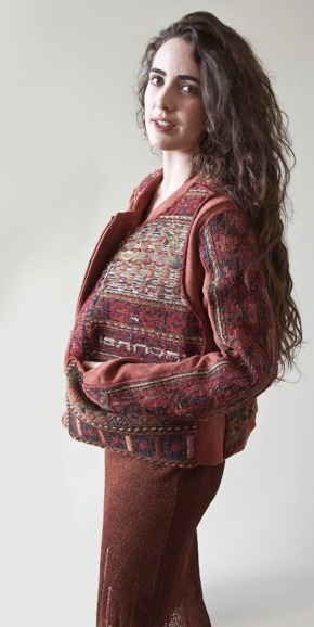 Persian Rug Jacket, photo by Sean Sullivan