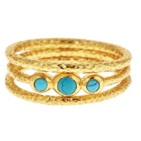Rialto Stacking Rings, $55 for set of 3